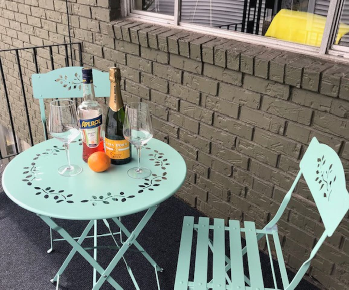 Have drinks on your front porch!