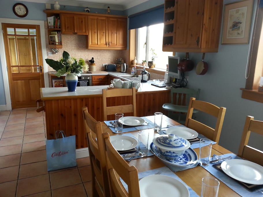 Well proportioned kitchen with everyting you need to cook up a fab meal