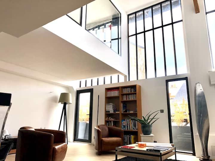 Atelier d'artiste - Loft rénové Montparnasse