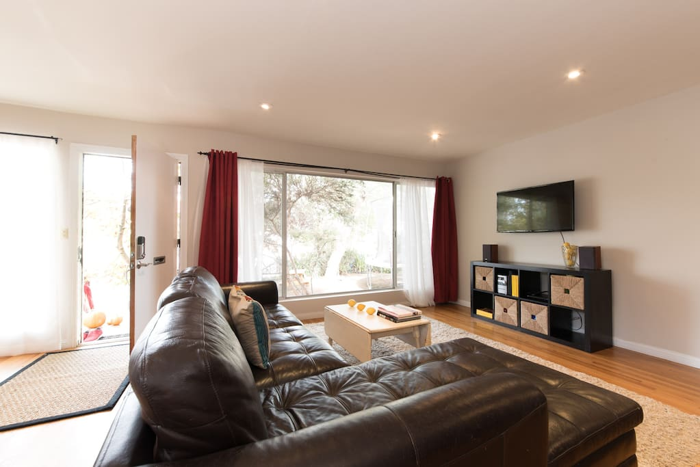 Smart TV and large living space