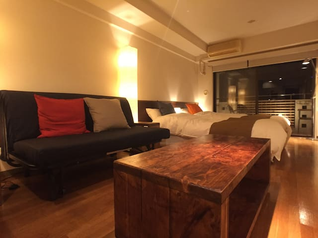 Luxury studio in west side of Shinjuku - Shibuya-ku - Apartment