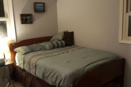 Private room and private full bath - Whiteland - Hus