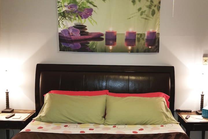 King bedroom layout - Spring  Zen 2019