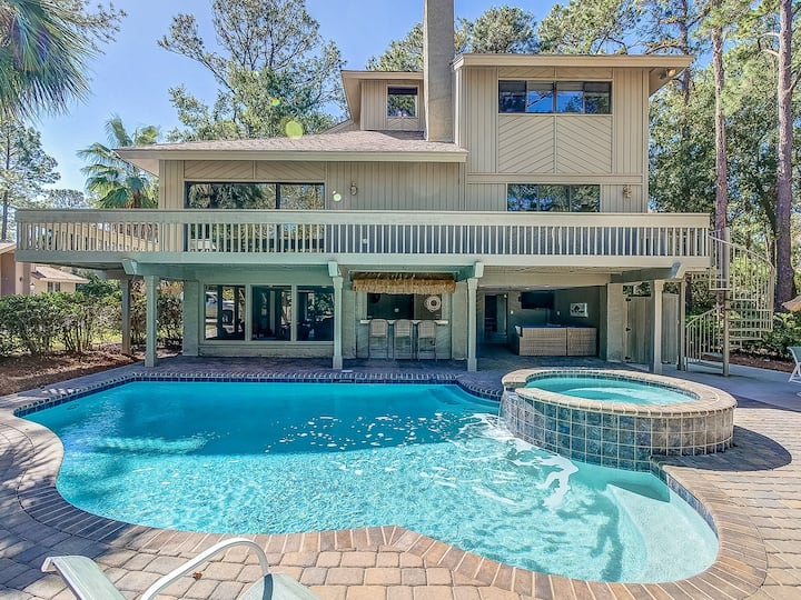 2 Gadwall- Beautiful 5 bedroom home, 3rd row from the beach