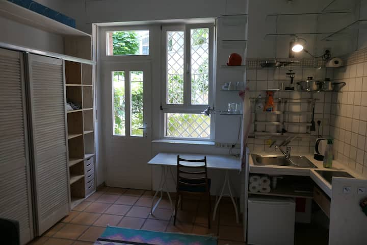 Ein-Zimmerwohnung am Park in Mannheim-Oststadt