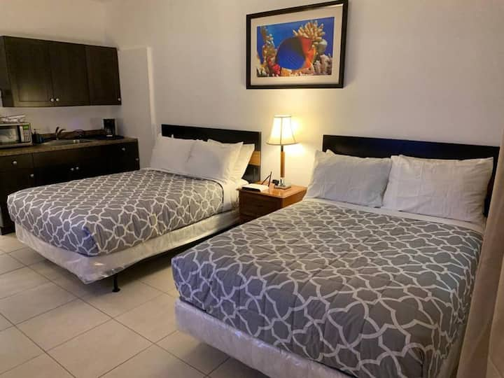 Special Offer! LOVELY STUDIO/1BATH, Hallandale Beach, FREE PARKING, SANITIZED, BEACHES AND POOL OPEN!