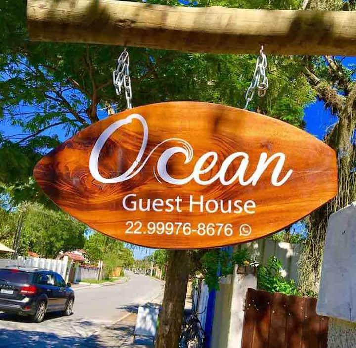 Suíte ampla, casa de praia em Itaúna com piscina