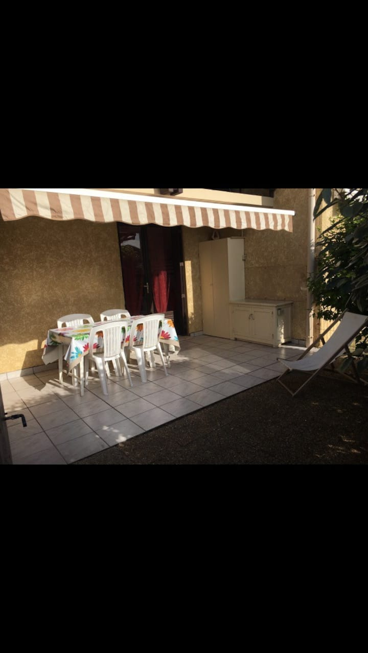 Seignosse bel appartement terrasse 30m de la plage