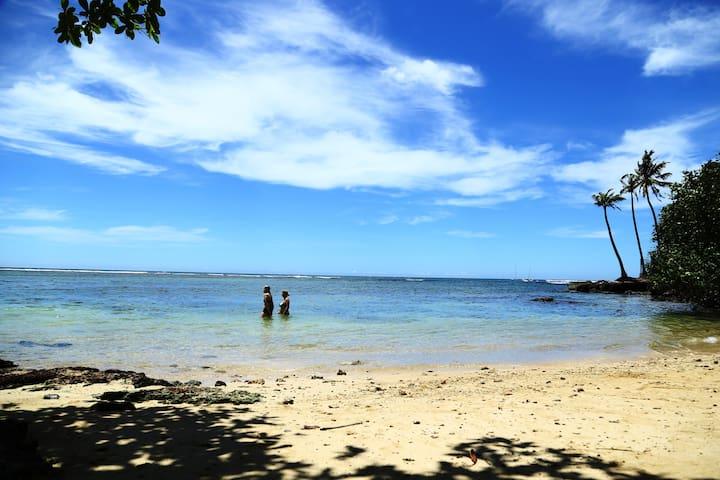 Beach Paradise Villa Polhama - Matara - Huis