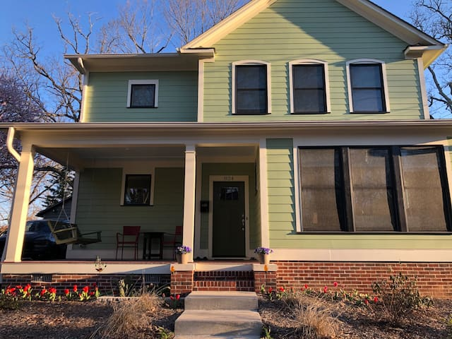 NEW Green Home in College Hill Historic District