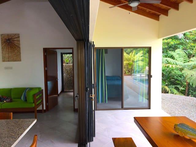 Indoor / Outdoor living.  Shade or sun on-demand.