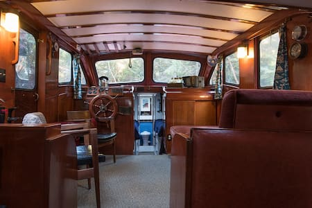 Land-based Cabin Cruiser-Spring Discount $79! - Port Townsend - Πλοίο
