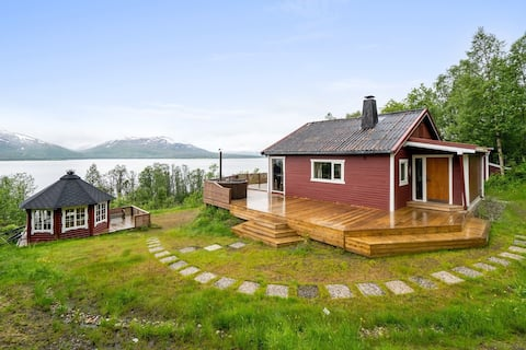 Countryside cabin 45m drive from Tromso