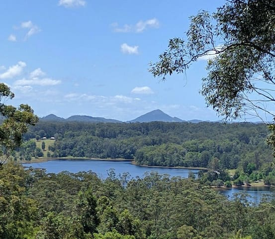Sunshine Coast Hinterland Magic with Water Views - Yandina - Casa