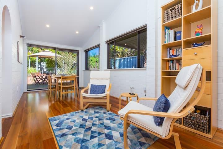 Warm, sunny & inviting eco-friendly villa!