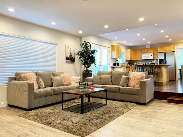 Spacious Home with Large Backyard for Events