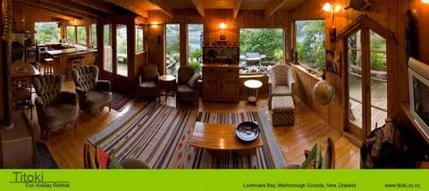 Incredible views at Marlborough Titoki Eco Retreat