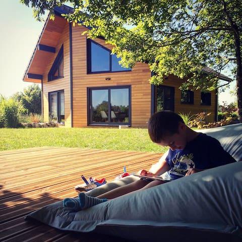 Maison moderne au cœur du Jura - Maisod - Ev