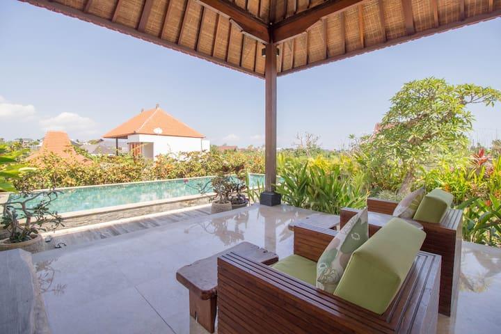 Hidden River Side Modern Sanctuary Villa - North Kuta - Villa