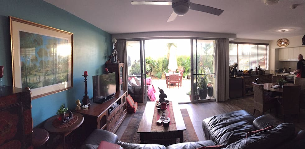 1 BR Apartment with spacious courtyard - East Ballina
