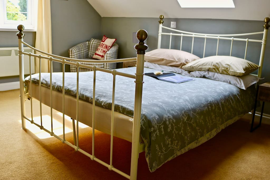 Your cosy double bed