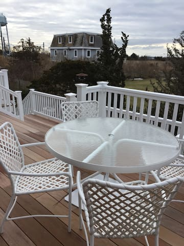 Water View from New Deck - Avail. Aug. 5 - 19th. - Stonington - House