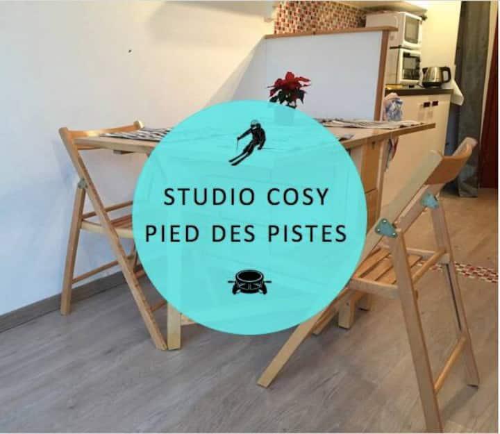 studio cosy pied des pistes