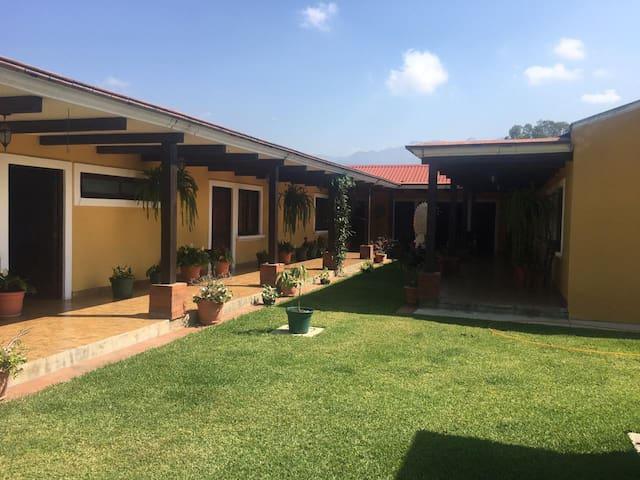 Beautiful colonial house in Huehuetenango