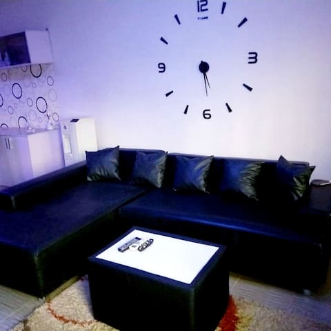 Luxury Bedroom in Scandinavian Style Duplex
