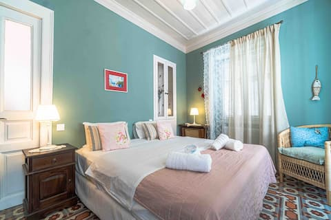 Neoclassical, Spacious Apartment in Andros Town