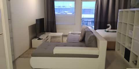 Cozy and neat studio apartment