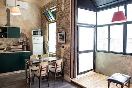 Levinsky Market 100 year old renovated studio - Tel Aviv-Yafo - Betjent leilighet