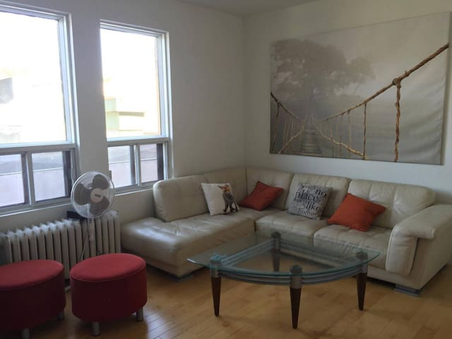 Private room in a big cozy apartment