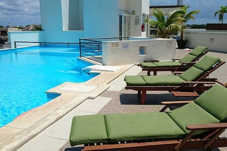 Luxury Apartment 3 blocks from 5th Av beach & bars - Playa del Carmen