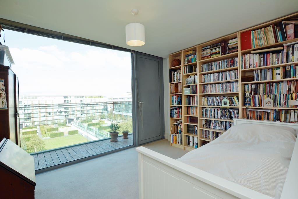 Your bedroom! Complete with pitch facing view and private balcony