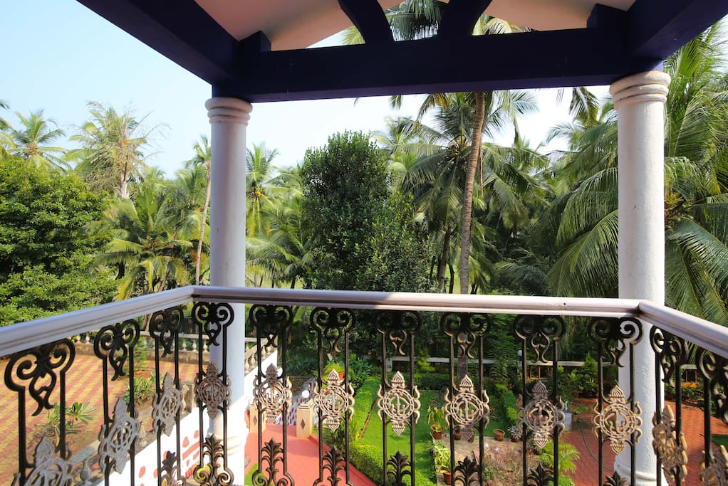 The balcony view....