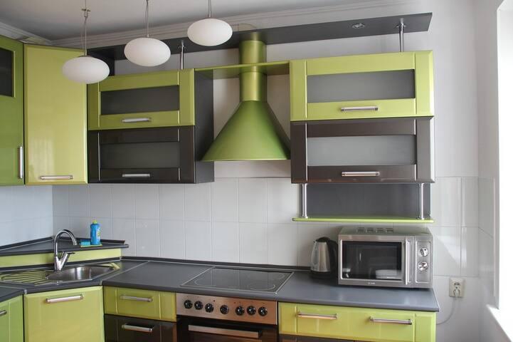 Уютная квартира для семьи или компании