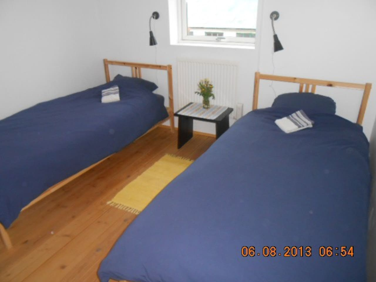 twin bedroom (beds can be moved together)