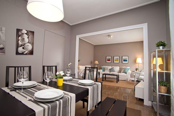 Cute Eixample HUTB-005692    - Barcelona - Lägenhet
