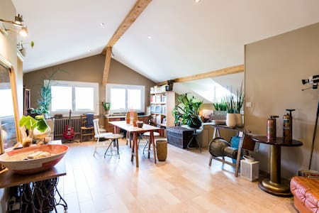 Loft nearby Geneva, countryside - Wohnung