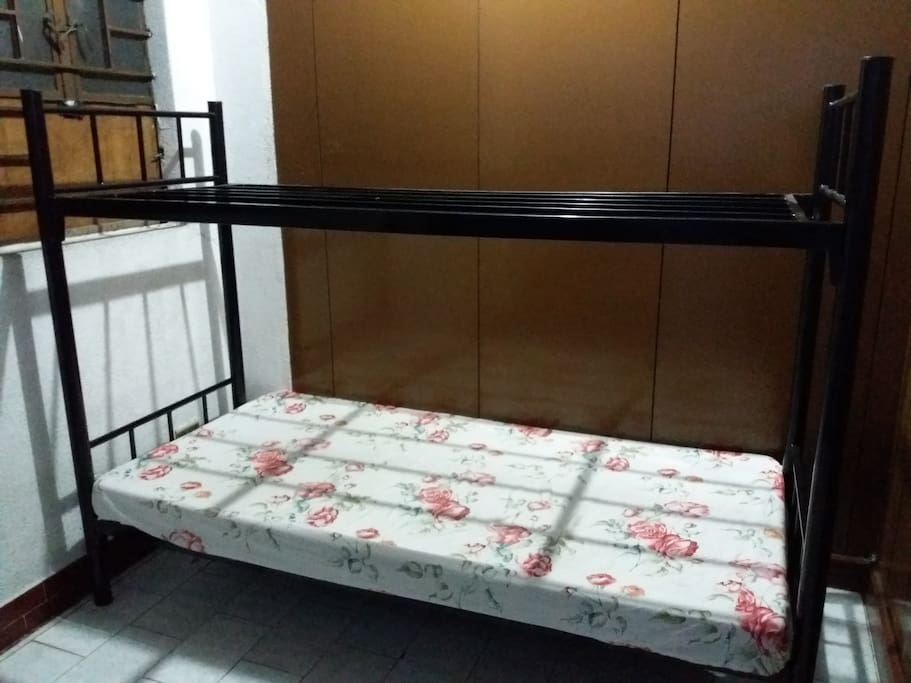 Bunk Bed can also be provided to accommodate 2 persons