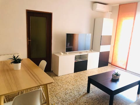 Habitación individual y zonas comunes como en casa