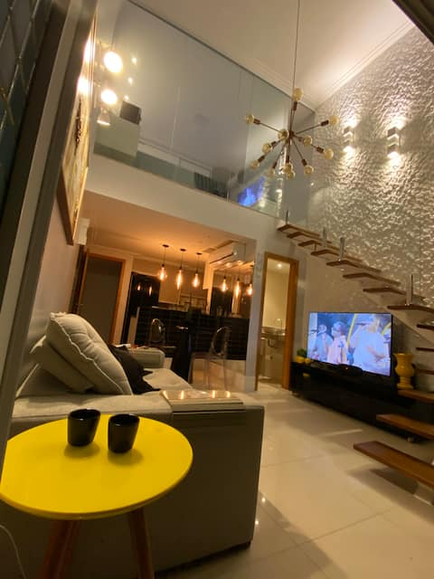Luxury loft in Patamares - 1/4 with one more sofa bed