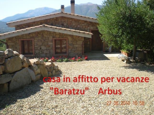 Immersi nel relax, comfort e natura - Arbus - Villa