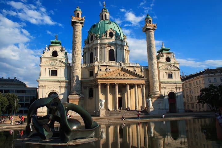Budget&central Free Wifi&own shower - Vienna - Apartmen