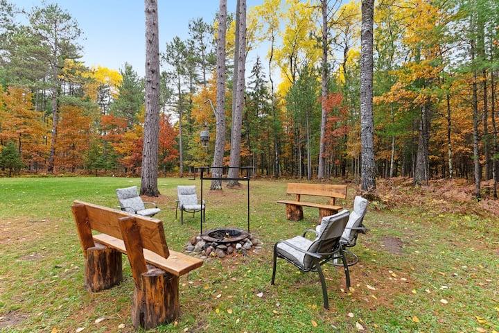 Charming dog-friendly house w/ private sauna, fireplace, & furnished basement!