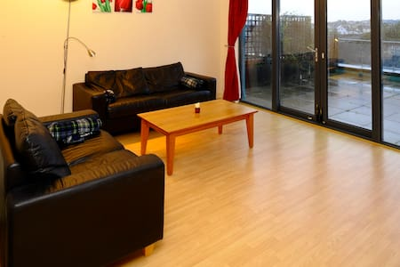 Cozy Penthouse Close to TRAIN2 - Balbriggan - Bed & Breakfast