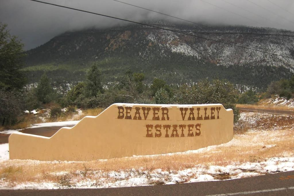Entrance to Beaver Valley