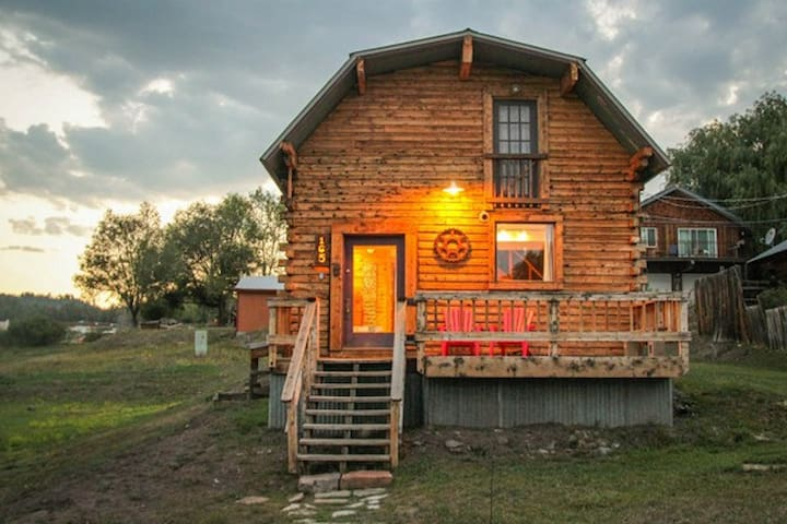 Downtown Cabin w/ Private Hot Tub - Pagosa Springs - Haus