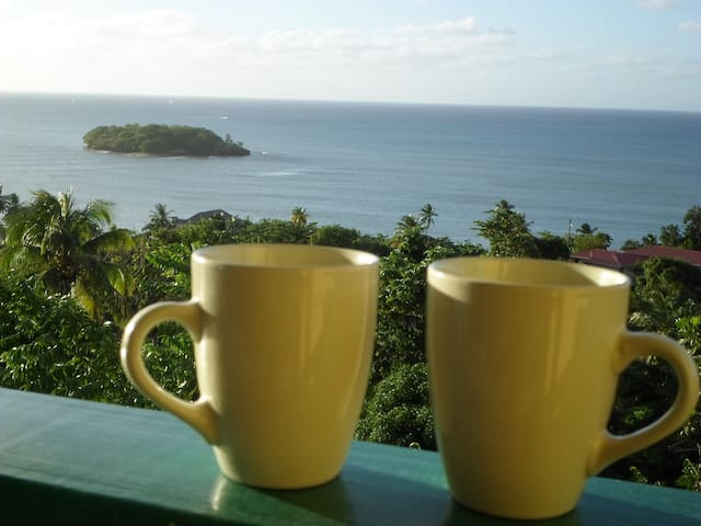 Amazing Beach View House Apt 2 - Castries City